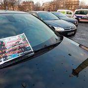 Faible mobilisation des chauffeurs de VTC à la Bastille