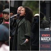 Madonna, Alicia Keys, Scarlett Johansson : en marche contre Donald Trump