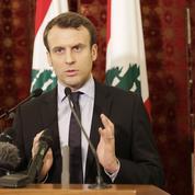Pendant la primaire, Macron sculpte sa stature internationale à Beyrouth