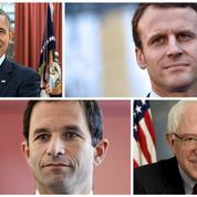 Macron et Hamon: Obama et Sandersà la française, vraiment?