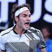 Malgré une saison 2016 décevante, Federer a engrangé 57 M€ de gains de ses sponsors