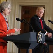Theresa May affirme que Donald Trump soutient l'Otan «à 100 %»