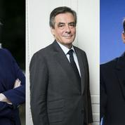 Présidentielle : Fillon et Macron au coude-à-coude, Le Pen en tête
