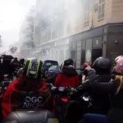 Les supporters niçois ont envahi les rues de Monaco en deux-roues