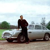L'Aston Martin DB5 de James Bond débarque à Paris
