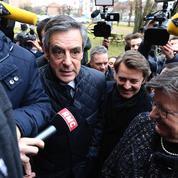 À Troyes, avec Baroin, Fillon «ne lâche rien»