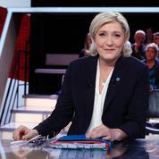 Sur France 2, Marine Le Pen mise sur une confrontation entre «mondialistes et patriotes»