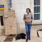 En grève de la faim, elle réclame le droit de «vivre de son travail»