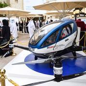 Dubaï a testé un taxi-drone qui se déplace à 100 km/h