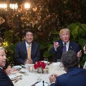 Dîner Trump-Abe : un défaut de sécurité fait polémique
