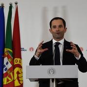 Au Portugal, le candidat PS plaide pour un «arc des gauches européennes» qu'il peine à réaliser en France