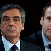 Présidentielle : Fillon repasse devant Macron dans un sondage