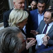 Marine Le Pen refuse de porter le voile à Beyrouth