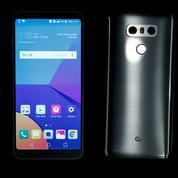 Le nouveau look du G6 de LG