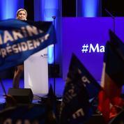 À Nantes, Le Pen promet de rétablir «l'État de droit»