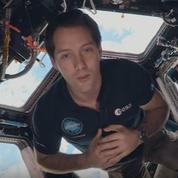 Thomas Pesquet chante avec les Enfoirés depuis l'espace