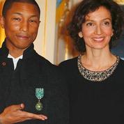 Pharrell Williams, promu officier des arts et des lettres