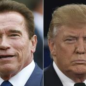 Entre Trump et Schwarzenegger, c'est l'amour vache