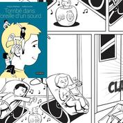 Tombé dans l'oreille d'un sourd :une BD poignante sur le quotidien d'un enfant sourd