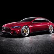 Mercedes AMG GT Concept, la GT des familles