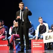 À Bordeaux, Macron fait l'éloge de Juppé pour conforter son aile droite