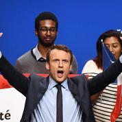 Présidentielle : Emmanuel Macron passe devant Marine Le Pen