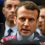 À Lille, Macron présente son projet pour la justice et cible Fillon