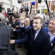 Dans l'Aisne, Emmanuel Macron se confronte à l'électorat FN