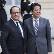 Pendant le débat, Hollande sera... en train de dîner avec le premier ministre japonais