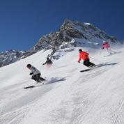 Val-d'Isère en tenue de printemps