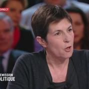 Christine Angot s'emporte face à François Fillon