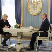Guillaume Tabard : «Vladimir Poutine, l'allié utile de Marine Le Pen»
