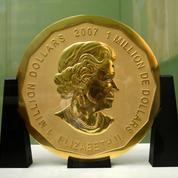 Une pièce de monnaie en or de cent kilos volée à Berlin