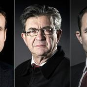 Mélenchon, Hamon, Macron: qui mobilise le plus à gauche?