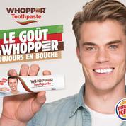 Burger King lance le premier dentifrice au goût «burger»