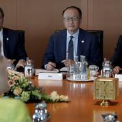 Angela Merkel et Christine Lagarde en croisade contre le protectionnisme
