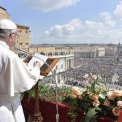 Dans son message pascal, le Pape implore Dieu pour la paix au Moyen-Orient