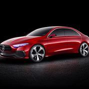 Mercedes Concept A Berline, un modèle de transition