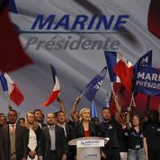 À Marseille, Le Pen appelle à «l'insurrection nationale»