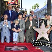 Chris Pratt inaugure son étoile à Hollywood