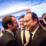 Après l'échec de Hamon, Hollande se met en marche pour Macron