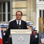 L'hommage de la Nation au policier Xavier Jugelé