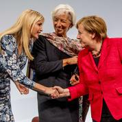 À Berlin, Ivanka Trump et Angela Merkel font cause commune