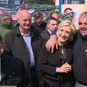 Marine Le Pen chez Whirlpool, une opération décidée à la dernière minute