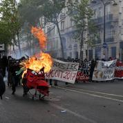 1er Mai : l'ultragauche s'en prend à la police en marge des cortèges syndicaux