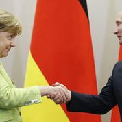 Un dialogue de sourds entre Merkel et Poutine