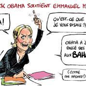 Le dessin d'Ixène sur le soutien d'Obama à Macron