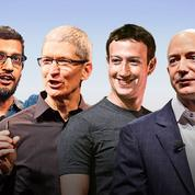 Google, Apple, Facebook et Amazon: toujours plus vite, plus haut, plus fort