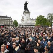 À Paris, déjà une première manifestation après l'élection d'Emmanuel Macron