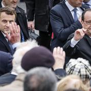 François Hollande sera «toujours à côté» d'Emmanuel Macron